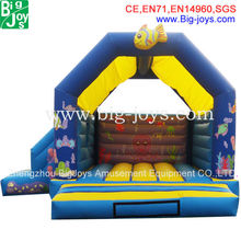 Bigjoys ocean house cheap inflatable bouncers for sale