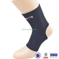 China Manufacturer Black Neoprene Adjustable Ankle Guard suit for pain relief gifts for elderly parents