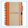 Classic A5 recycled paper journal notebook with pen for gifts