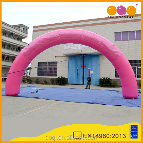 cheap pink inflatable entance arch for advertisement