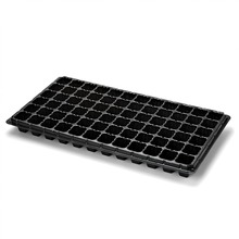 2 Inch High 72 Cell Seed Starter Starting Trays for Planting Seedlings Propagation Germination Plug Station