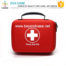 Nylon high quality travel small all purpose first aid kits hard plastic box