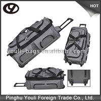 1800D Polyester duffel bag with trolley