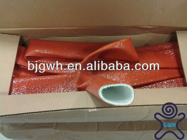 High Performance Silicone Fiberglass Heat Shield Tubing