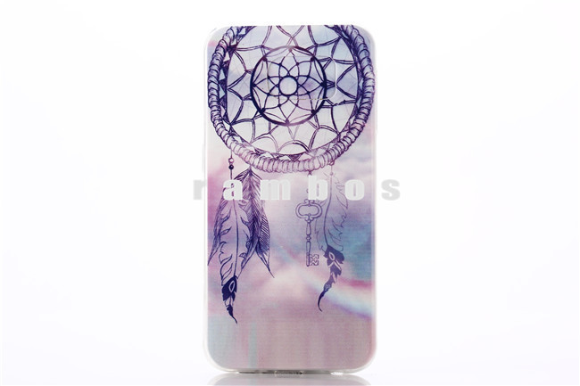 Customized Soft TPU Cell Phone Case DIY Color Printing Case Make Your Own Design Cover for Samsung Galaxy S6 Edge