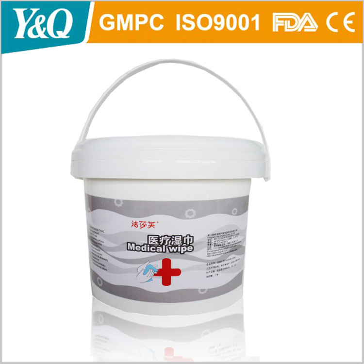OEM Patient Cleaning Medical Wipes Tissue