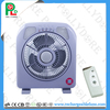 2017 Stock Sell portable rechargeable fan with light
