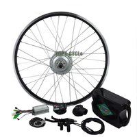 Easy Assemble Bicycle 26Inch Rear Wheel Electric Bike Hub Motor Diy Conversion Kit With Battery
