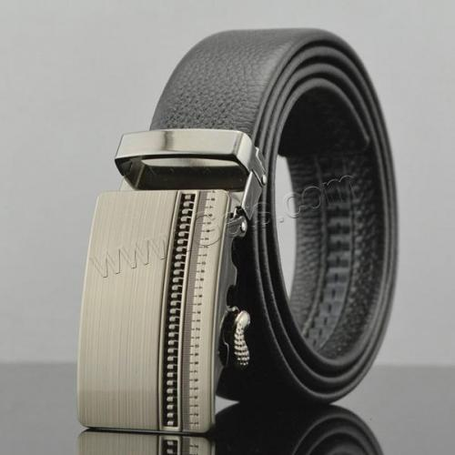Bulk Luxury Automatic Genuine Leather Belt Buckle for Men 837072