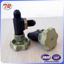Manual shut-off valve QSF-8 /Hydraulic oil line valve
