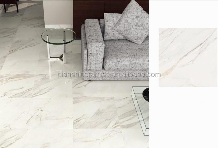 Calacatta White 800800 Full Body Porcelain Tile Floor Tile View