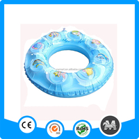 Non-toxic Lovely PVC inflatable swimming ring for kids