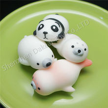 Wholesale custom slow rise animal mochi squishy squeeze toys for kids