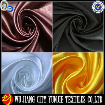 polyester satin lining fabric