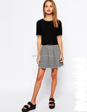sexy girls in school short skirts models petite stripe scuba skater skirt photos low skirts for girls