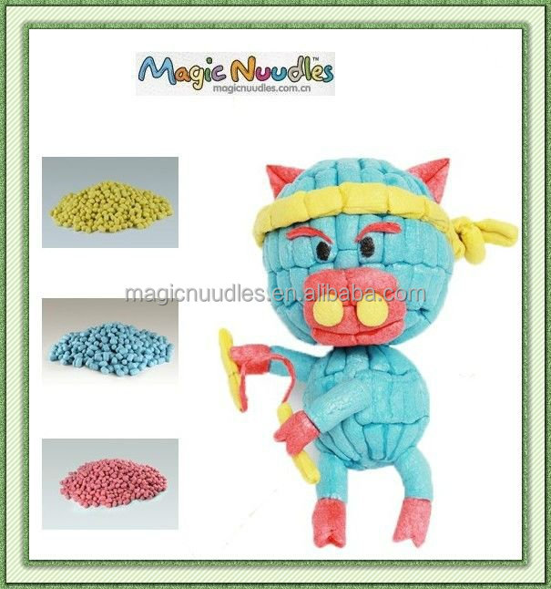 DIY Easy Handicrafts Decoration Handicrafts Magic Nuudles kids toys new ASTM F963-11,EN71,OECD 209,ASTM 6400