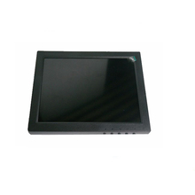 "Low cost plastic case 8"" LCD TFT shakeproof resistive touch screen monitor"