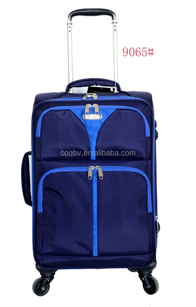 2015 new style four single wheels real trolley travel bags