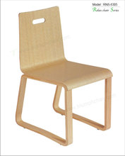 Triumph New design chair seat and back plywood / curved back dining room chair restaurant chair