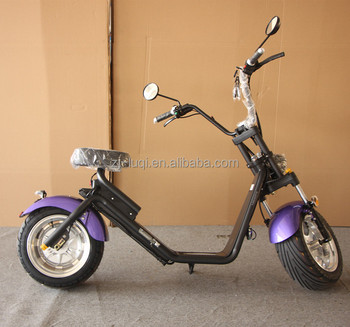 Fat Wheel Citycoco 1200w 60v EEC approved Electric Scooter Motorcycle