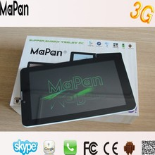 dual sim card dual standby tablet pc 3g gsm phone calling with clear invoice