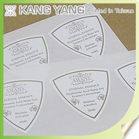 New product top quality skin care private label cosmetic sticker printing