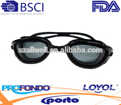 Hot sale wide vision watersports goggle with great comfort