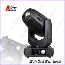 guangzhou light 280w(10r) moving head spot beam wash 3in1 robe pointe