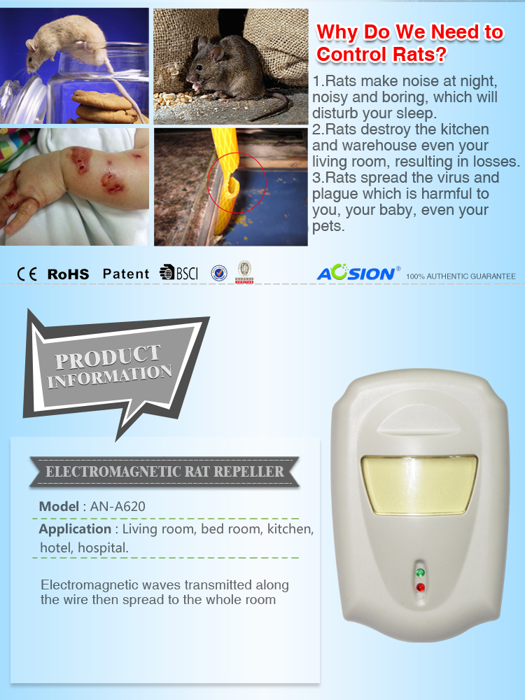 Aosion uniqu electromagnetic insect repeller