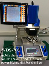 Automatic mobile phone BGA rework station WDS-700 with optical alignment for motherboard repair