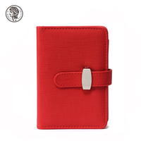 2017 Fancy Red PU Leather A4