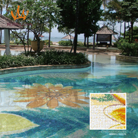 2015 original design swimming pool mosaic tile SOD76