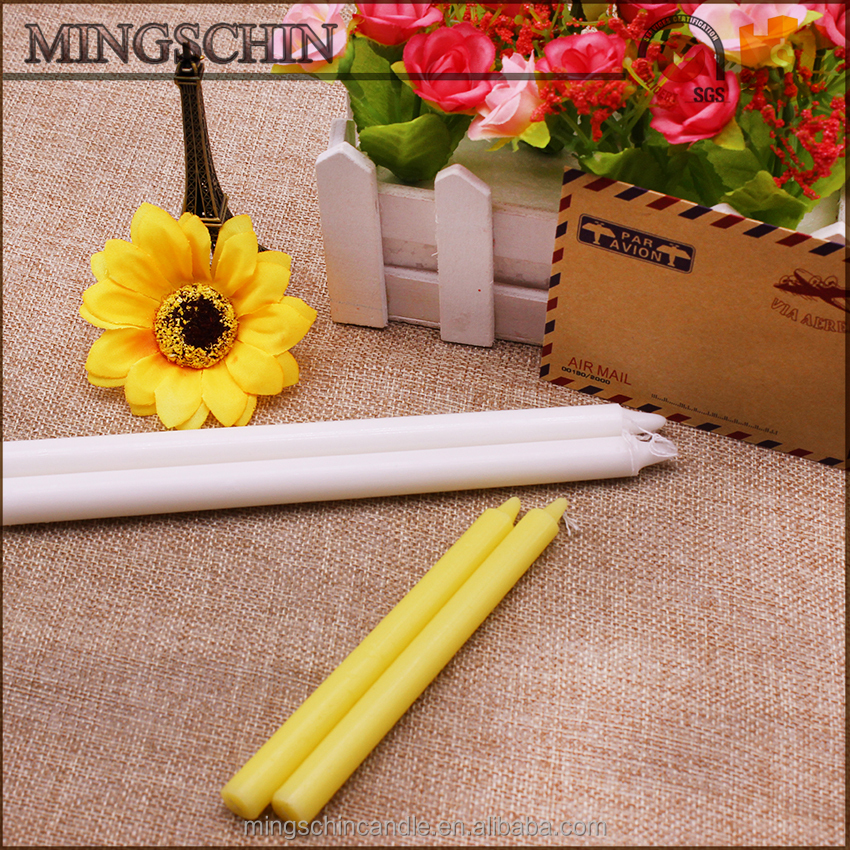 Alibaba wholesale natural cotton wick religious candles stick candle