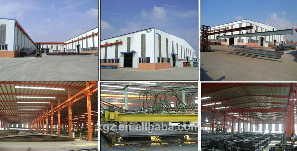 warm keeping prefabricated steel structure cow shed