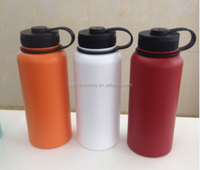 18 8 double wall insulated stainless steel water bottle with wide mouth