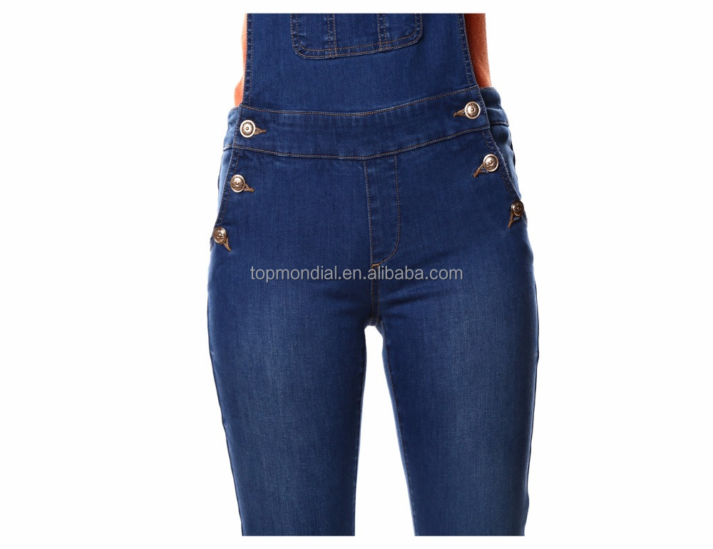 2017NEW FASHION denim overalls factory price