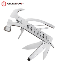 High quality stainless steel mini multi-purpose functional claw hammer tool