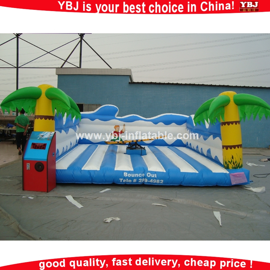 Hot product inflatable mechanical surfboard/surf air inflatable surfboard / mechanical surfboard