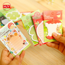 HJY2018 new convenient stickers, cute cartoon N color stickers sticky note