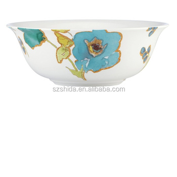 "porcelain 6""salad bowl with full decal"