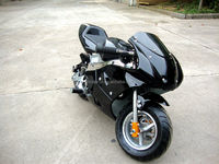 Cheaper Mini Kids 49cc Gas Powered Super Pocket Bike For Sale