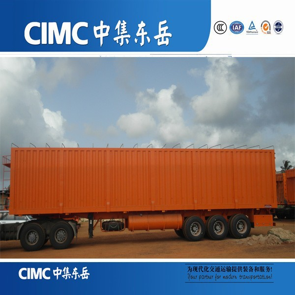 CIMC High Cube Van Bolster Fast Carriage of Big, Bulky Items for Sale