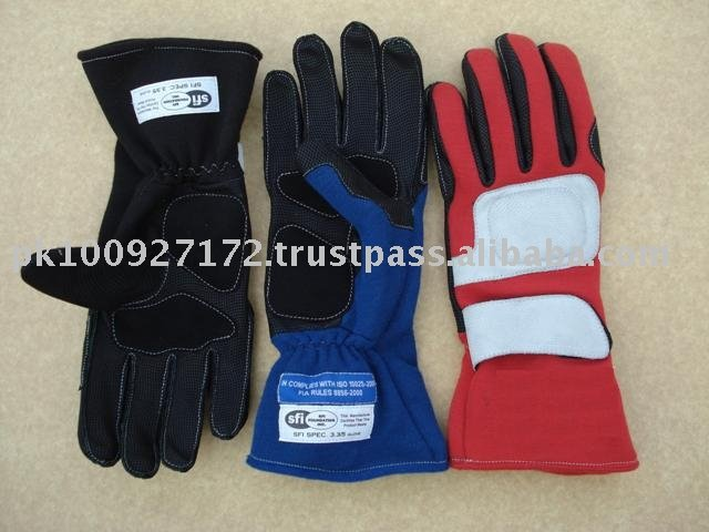 Car Racing Nomex Gloves 3 Colors