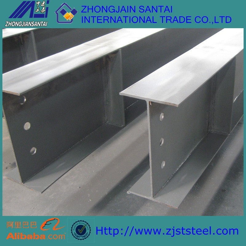 ASTM Structural H hot rolled carbon galvanized steel h beam profile
