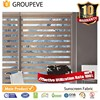 UV protect fire retardant blinds fabric for windows zebra blind fabric