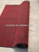 polypropylene nonwoven needle punched water ripple carpet