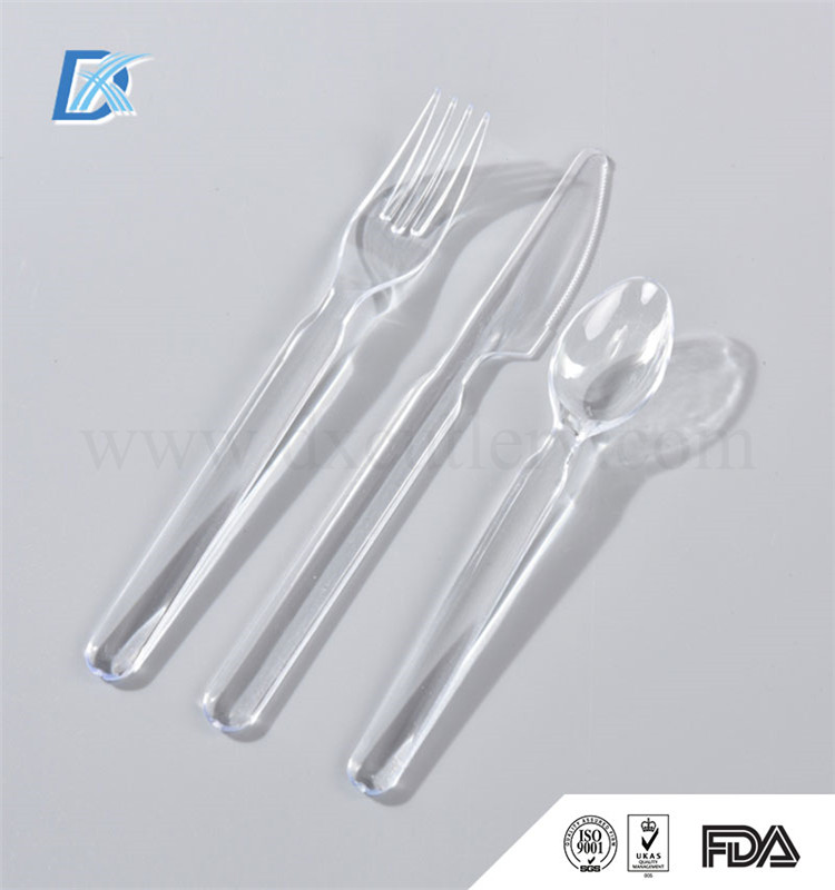 Custom FDA LFGB Other Cutlery Names Of Cutlery Set Items Plastic Cutlery Tray