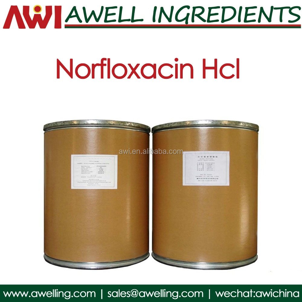Hot Supply Norfloxacin Hydrochloride hcl 104142-93-0