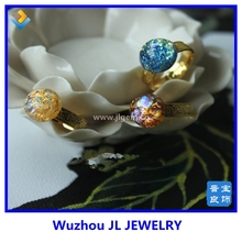 latest gold finger one single stone ring jewelry