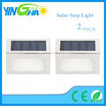 Outdoor Stainless Steel LED Solar Step Light; Illuminates Stairs, Deck, Patio yinghao item YH0405